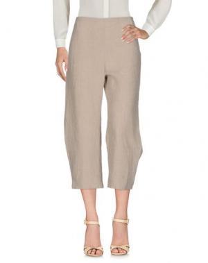 Повседневные брюки A.B APUNTOB. Цвет: бежевый