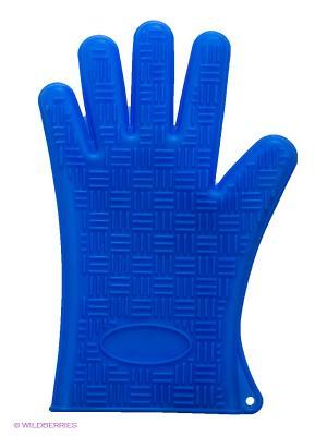 Прихватка-перчатка MAYER-BOCH. Цвет: синий