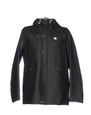 Легкое пальто BLAUER. Цвет: черный