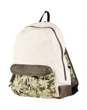 Рюкзаки и сумки на пояс MANUEL RITZ. Цвет: бежевый