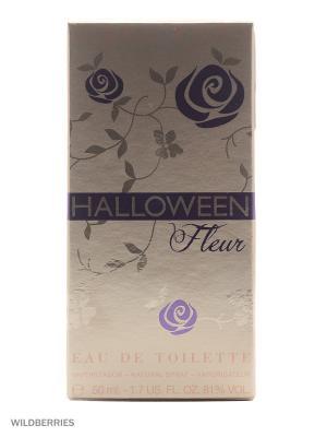Туалетная вода Halloween Fleur 50 мл. Цвет: бронзовый