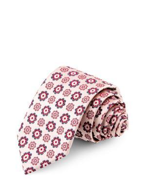 Галстук GREG. Цвет: бежевый, красный, розовый