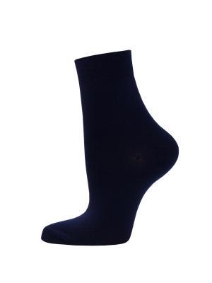 Носки из бамбука, 2 пары HOSIERY. Цвет: темно-синий