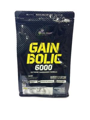 Гейнер Gain Bolic 6000  (ваниль) 1000 гр Olimp Nutrition. Цвет: черный, белый, желтый