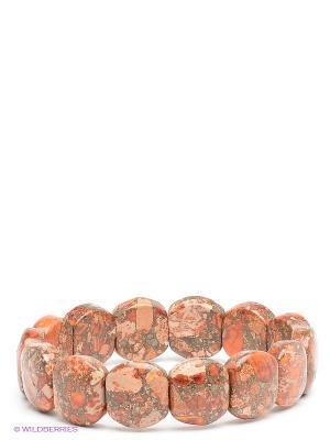 Браслет Migura. Цвет: коричневый, бежевый, оранжевый