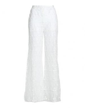 Повседневные брюки ALEXIS. Цвет: белый