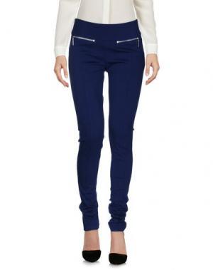 Повседневные брюки YES ZEE by ESSENZA. Цвет: синий
