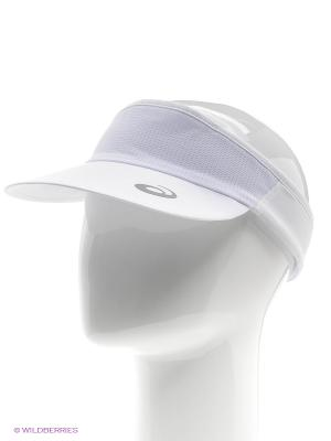 Козырёк PERFORMANCE VISOR ASICS. Цвет: белый