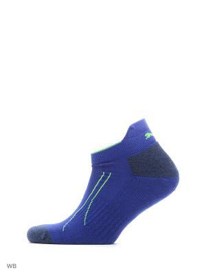 Носки PUMA CELL TRAIN SNEAKER 2P. Цвет: синий