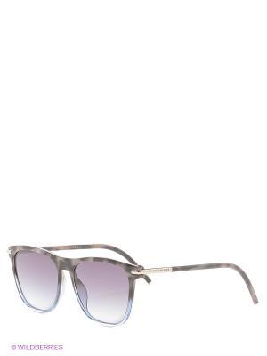 Солнцезащитные очки MARC JACOBS. Цвет: серый, голубой