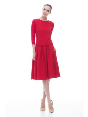Блузка Endea. Цвет: красный