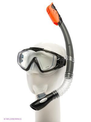 Плавательный набор Intex. Цвет: черный