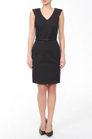 Утонченное платье без рукавов XS MILANO. Цвет: черный