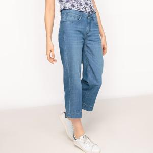 Юбка-брюки оригинальная, однотонная FREEMAN T. PORTER. Цвет: синий