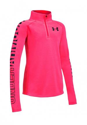 Лонгслив спортивный Under Armour. Цвет: розовый