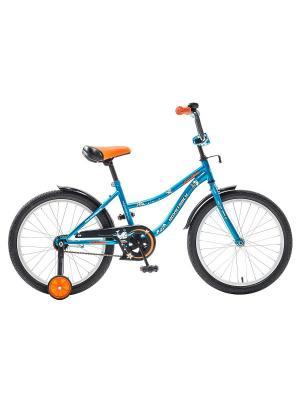 Велосипед 20 NEPTUNE NOVATRACK. Цвет: синий