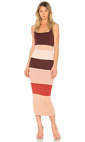 Платье kannelite Ronny Kobo. Цвет: сиреневый