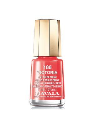 Лак для ногтей тон 188 Victoria Mavala. Цвет: оранжевый