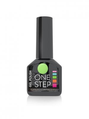 Однофазный гель-лак One Step №76, 6 мл GIORGIO CAPACHINI. Цвет: светло-зеленый