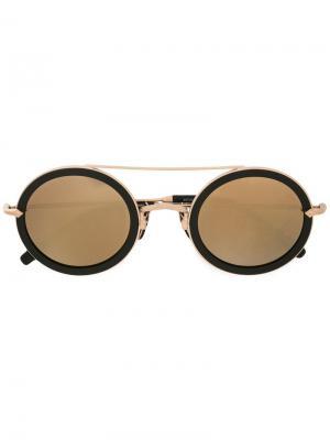 Солнцезащитные очки M3039 Matsuda. Цвет: чёрный