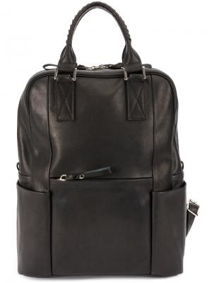 Tower backpack Cornelian Taurus By Daisuke Iwanaga. Цвет: чёрный