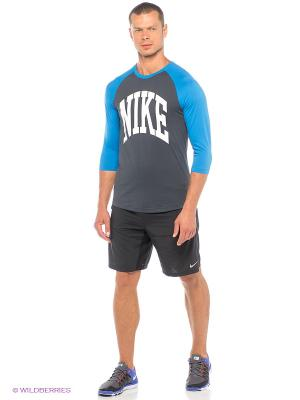 Шорты 9 DISTANCE SHORT Nike. Цвет: черный, белый