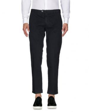 Повседневные брюки LUIGI BIANCHI Mantova. Цвет: свинцово-серый