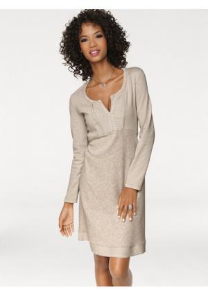 Платье Linea Tesini. Цвет: серый