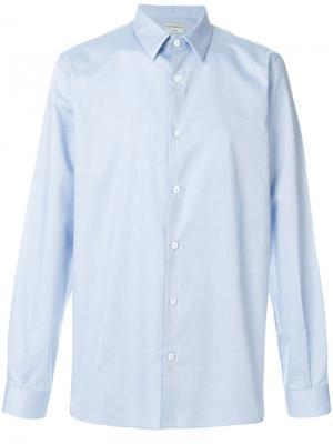 Рубашка с французским воротником Éditions M.R. Цвет: синий