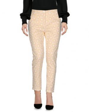 Повседневные брюки AIMO RICHLY. Цвет: желтый