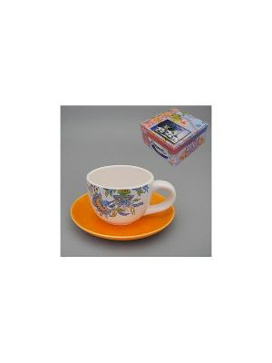 Набор чайный 2 пр. ДЖИННИ-ФЛО MOLENTO. Цвет: белый