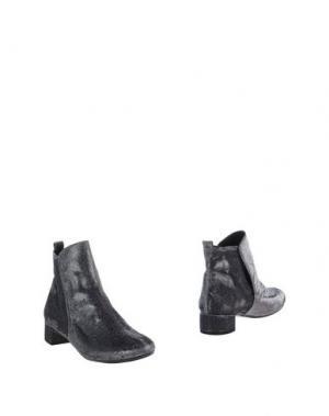 Полусапоги и высокие ботинки RÊVE D'UN JOUR. Цвет: серебристый