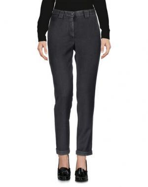 Повседневные брюки MYTHS. Цвет: свинцово-серый