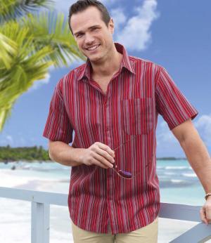 Рубашка в Полоску AFM. Цвет: в-полоску