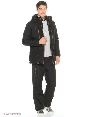 Куртка Stayer. Цвет: черный, коричневый