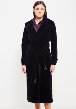 Пальто Asya Malbershtein. Цвет: черный