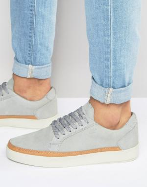 Boxfresh Замшевые кроссовки Civik. Цвет: серый