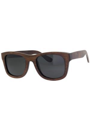 Очки TM0055-G-22-B BAMBOO TEHMODA. Цвет: коричневый