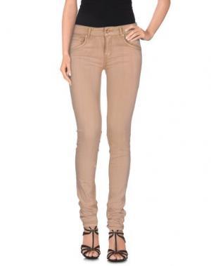 Джинсовые брюки SUPERTRASH. Цвет: пастельно-розовый