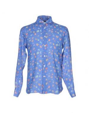 Pубашка MOSAIQUE. Цвет: синий