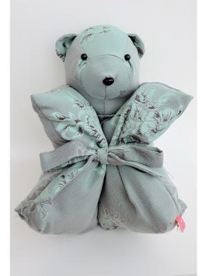 Декоративная подушка Mammi. Цвет: серо-голубой