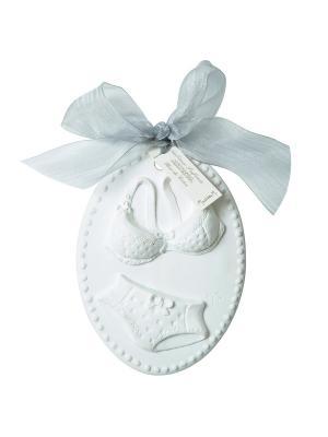 Ароматические украшения Медальон  Комплект белья, аромат Мягкость хлопка Mathilde M. Цвет: белый
