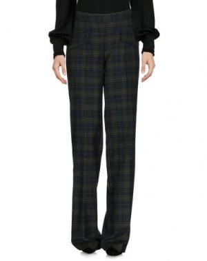 Повседневные брюки PAOLO CASALINI. Цвет: зеленый