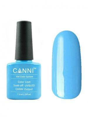 Гель лак №74 CANNI. Цвет: голубой
