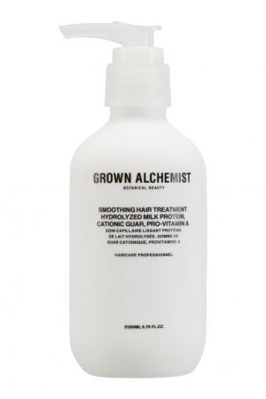 Разглаживающий крем для волос Smoothing Hair Treatment 200ml Grown Alchemist. Цвет: multicolor