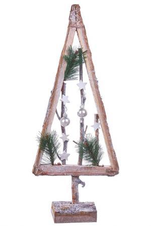 Декоративная дизайнерская елка DUE ESSE CHRISTMAS. Цвет: коричневый, зеленый