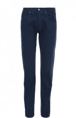 Джинсы прямого кроя 2 Men Jeans. Цвет: синий