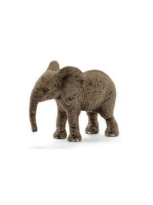 Детеныш африканского слона SCHLEICH. Цвет: серо-коричневый