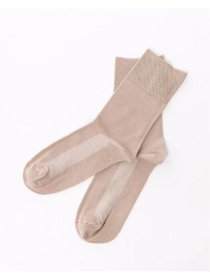 Носки Mark Formelle. Цвет: светло-коричневый, темно-бежевый