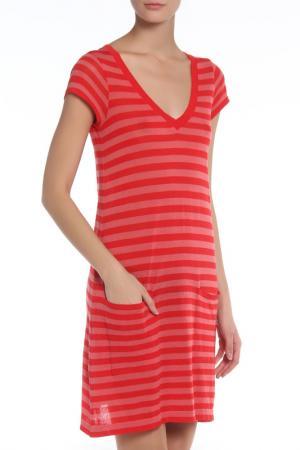 Платье SIYU. Цвет: красный